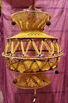 Lámpara macramé, mod. 2