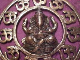 Om ganesha bronce