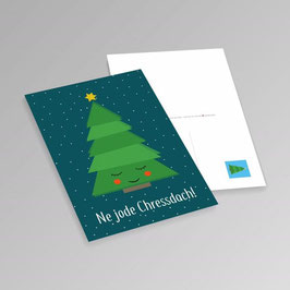 Ne jode Chressdach - Kölsche Weihnachtskarte