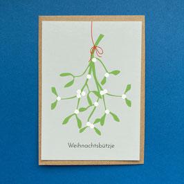 Weihnachtsbützje - Kölsche Weihnachtskarte