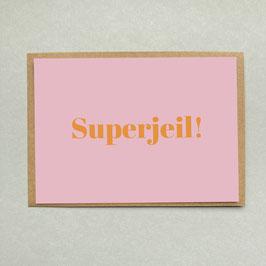 Superjeil - Postkarte