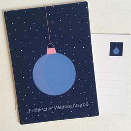 Fröhlischer Weihnachtsjroß - Kölsche Weihnachtskarte