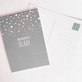 Weihnachten Alaaf - Kölsche Weihnachtskarte