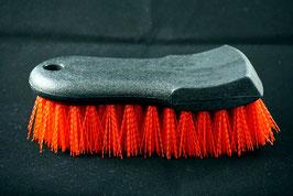 Braun Automotiv Teppich und Polsterbürste Rot