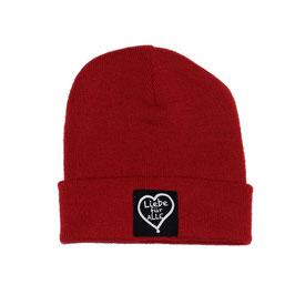 Beanie «Liebe für Alle» rot