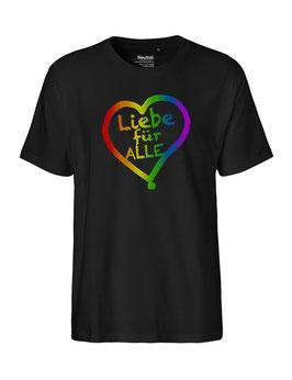"""«Liebe für Alle» Shirt Regenbogen - """"Vorne Druff"""""""