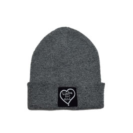 Beanie «Liebe für Alle» heather grey