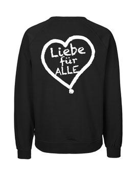 """«Liebe für Alle» Sweater weiß - """"Doppelt Beherzt"""""""