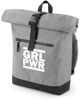 Rucksack «GRL PWR» grau