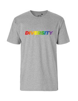 """«Diversity» Shirt Regenbogen - """"Vorne Druff"""""""