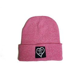 Beanie «Liebe für Alle» heather pink