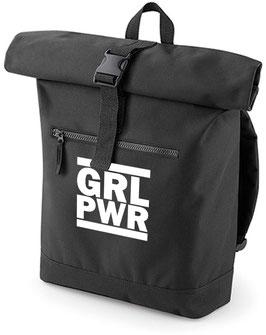 Rucksack «GRL PWR» schwarz