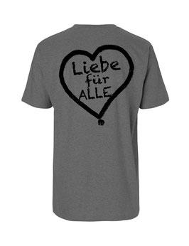 """«Liebe für Alle» Shirt schwarz - """"Doppelt Beherzt"""""""