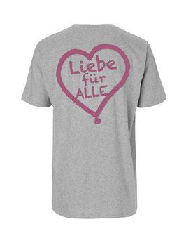 """«Liebe für Alle» Shirt pink - """"Doppelt Beherzt"""""""