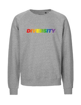 """«Diversity» Sweater Regenbogen - """"Vorne Druff"""""""