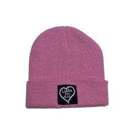 Beanie «Liebe für Alle» classic pink