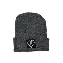 Beanie «Liebe für Alle» dark grey