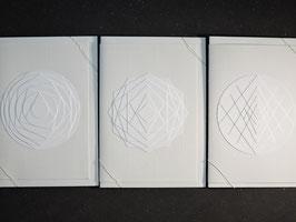 "Weiße Kunstkarten ""Mix I"""