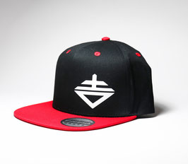 S2 Snapback College Red