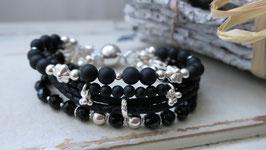 Janogi Armband LESTONE Black