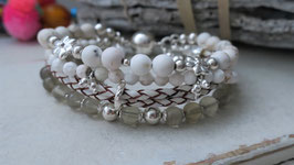 Armband LESTONE New White
