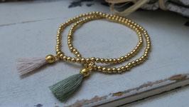 Janogi Silberkugeli-Armband Gold