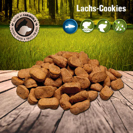 Lachs-Cookies 500g