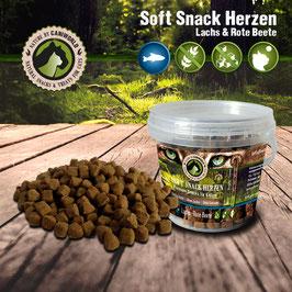 Soft Snack Herzen Lachs 100g