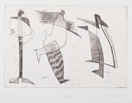 """"""" Wohin """" von Ilse Rex Lenius, 2001"""