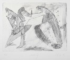 """"""" Berührung """" von Ilse Rex Lenius, 2001"""