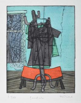 """"""" Garderobe """" von Bernhard Michel, 1997"""