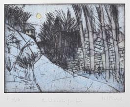 """"""" Reichards-Garten """" von Bernhard Michel, 1986"""