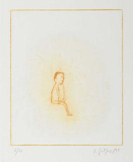 """"""" Sitzender """" von Dieter Gilfert, 1998"""