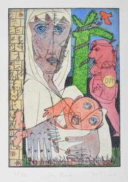 """"""" Im Park """" von Bernhard Michel, 1994"""