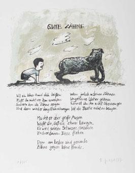 """""""  Gute Zähne """" von Dieter Gilfert, 1987"""