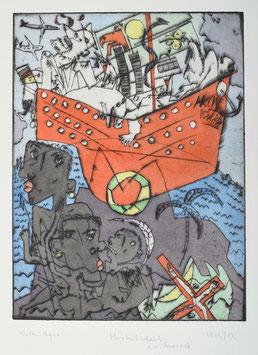 """"""" Herbsturlaub am Ararat """" von Bernhard Michel, 2002"""
