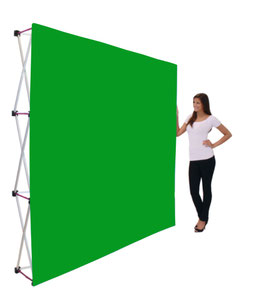 Green-Screen Wand Stoff