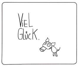 """Magnet """"Viel Glück"""""""