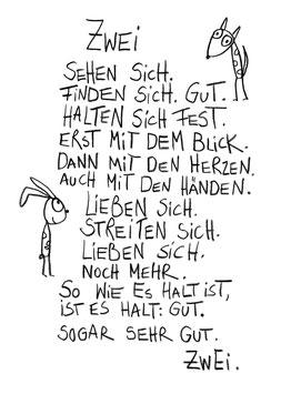 """Bild """"Zwei sehen sich"""""""