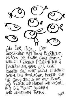 """Bild """"Fische, Hase, Fuchs und das Meer"""""""