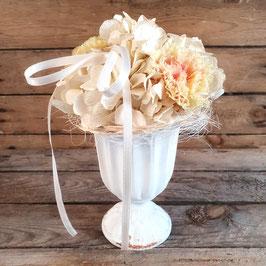 "Blumenarrangement ""Peach-Romance"""