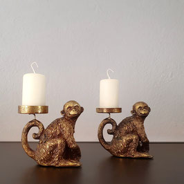 "Kerzenhalter ""Äffchen II"""