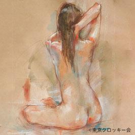 【会場開催】8/9 (日)14:00- クロッキー会/女性ヌード 永福会場
