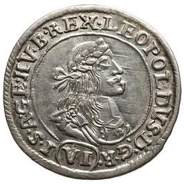 Leopold I. (1657-1705) VI Kreuzer, 1671