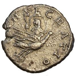 DIVA Julia MAESA (218-224/5) AR Denar, Rom