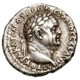 Caesarea, Vespasianus (69-79) DI-Drachme, Nike