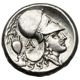 Akarnania, Leukas (320-280 BCE) AR Stater, Athena