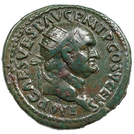 Vespasian (74) AE Dupondius, Rom