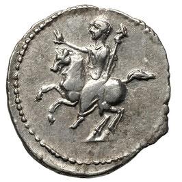 Domitian (Caesar, 69-81) Rom, KAISER zu Pferd