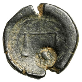 PHARAO Nektanebo II (361-343 BCE) AE, RAR!